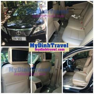 nội thất xe du lịch tại MyDinh Travel
