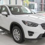 Cho thuê xe Mazda cx5 màu trắng